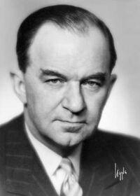 Axel Gustaf Torbjörn Enström (1893-1977) in 1955 in Sweden. Image from the collection of Håkan Sjödin
