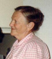 Gunborg at 58.