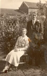Lillian Jenner (1903-1939) and husband Clifford Taylor (sister of Florence Eveline Jenner)