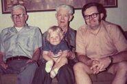 Four Generation Klein men