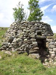 Old lime kiln at Badenyon