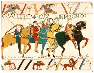 Bayeux Tapestry WillelmDux