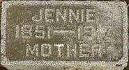 Jennie (Winkels) Arendsen headstone