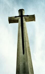 A Commonwealth Cross of Sacrifice or War Cross