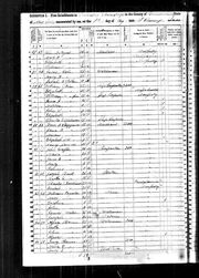1850 census Warfle Fleetwood