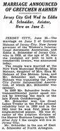 EddieAugustSchneider marriage 1937