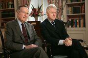 Bush and Clinton