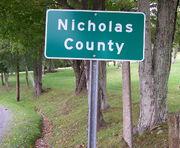 NicholasCountySignWV