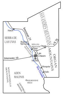 Donaana-countymap
