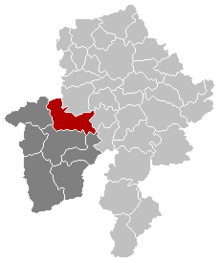 Florennes Namur Belgium Map