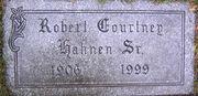 Robert Courtney Hahnen I tombstone