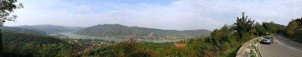 Danube gorge near Visegrád