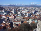 Ljubljana from the Castle