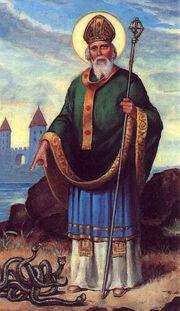 St-patrick-banising-snakes