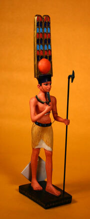 Amun-re standing large yt5869