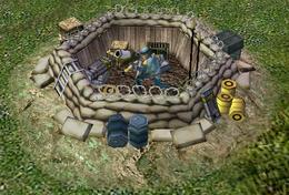 ECA Mortar Pit