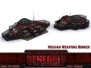 Russian weapons bunker