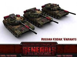 Russian Kodiak Variants
