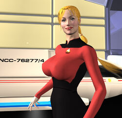 Ensign Ashley Morgan