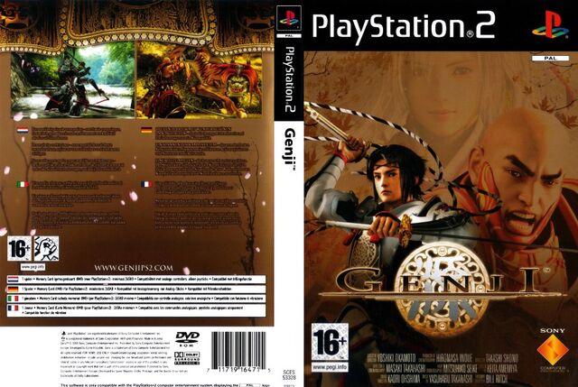 File:Genji Dawn Of The Samurai COVER 2.jpg