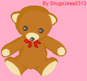 Abigail Redstone's teddy bear Wilbur