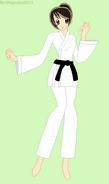 Akira Kazami Karate Outfit
