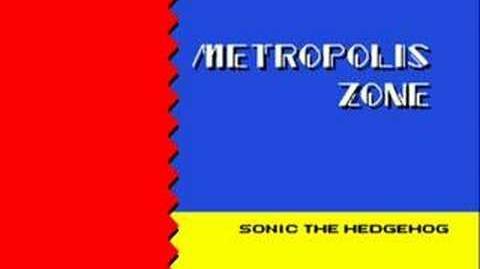Sonic 2 Music Metropolis Zone