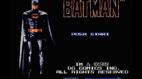 Batman (NES) Music - Cutscene Theme