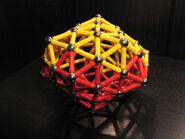 Pentagonal deltahedron b
