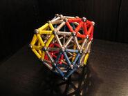Snub exp (0 0 12 17) deltahedron b