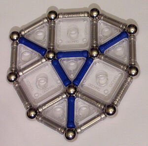 Augmented Truncated Dodecahedron - Planar Piece