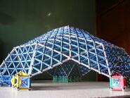 Domo geodesico Lat.