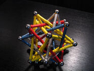 Five intersecting tetrahedra 4