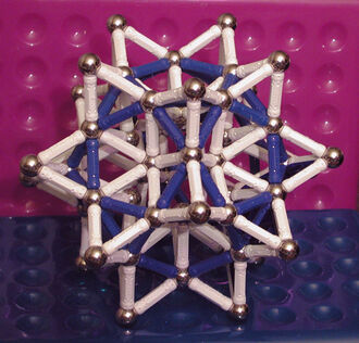 Stellated Rhombic Triacontahedron - L