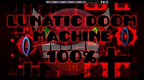 (Insane Demon) Lunatic Doom Machine verified by SrGuillester - Geometry Dash