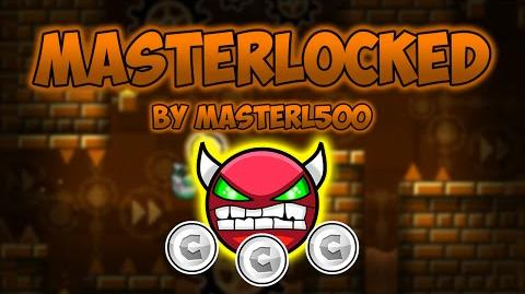 Geometry Dash Demon Medium - MasterLocked - by MasterL500 (All Coins)