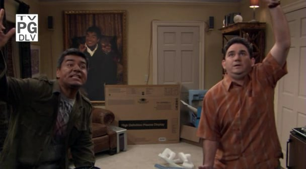 File:Ep 6x3 - George and Ernie mount the HDTV on the wall.jpg