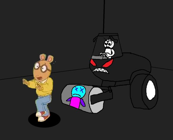 File:Arthur Read is about to crushed from Steam Roller by Geo Guy.jpg