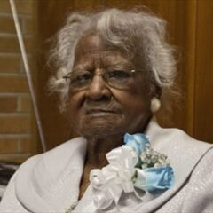 Jeralean Talley at age 116