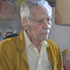 Alexander Imich at age 108.