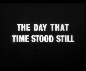 The day that time stood still