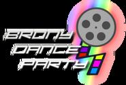 Bronydanceparty logo by dksrshadowdancer-d8efvls