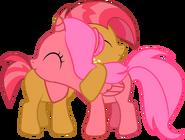 Cherry seed foal hug by creshosk-d5qxglj
