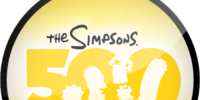 The Simpsons 500th Episode (Sticker)