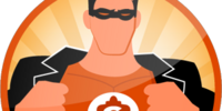 Check-in Superhero (Sticker)