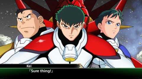 Super Robot Taisen V(ENG) Shin Dragon All attacks