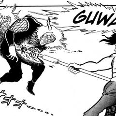 Hayato kills one of <a href=