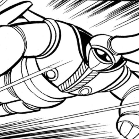 Minobi in flight