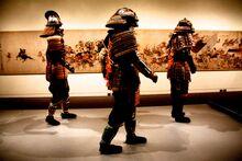 Boston-museum-of-fine-arts-samurai-exhibit-samurai-walking-2