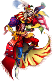 Kefka dissidia artwork